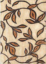 Декор Травертин D 280х400 цветы