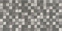 Плитка облицовочная Мегаполис 250х500 темно-серая мозаика
