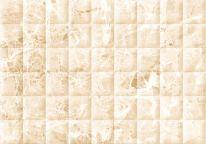 Плитка облицовочная Мэдисон 280х400 бежевая рельеф