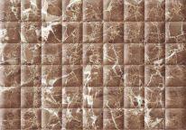 Плитка облицовочная Мэдисон 280х400 коричневая рельеф