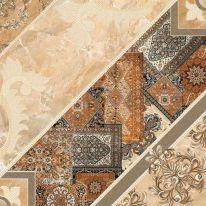 Плитка напольная InterCerama Carpets Темно-коричневая