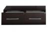 Тумба подкатная Aquanet Нота 100 венге арт.170750