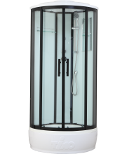 Душевая кабина Timo Standart Т-6680 Black