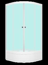 Душевой уголок Domani-Spa Fit 88 mid 80x80 матовый