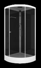 Душевая кабина Domani-Spa Simple 90x90 тонированная