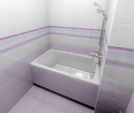 Акриловая ванна ALPEN Lily 130x70