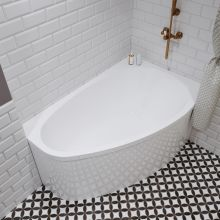 Акриловая ванна 1ACReal Marseille 140x100