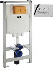 Система инсталляции для унитазов Oli 80 механическая с кнопкой смыва Salina