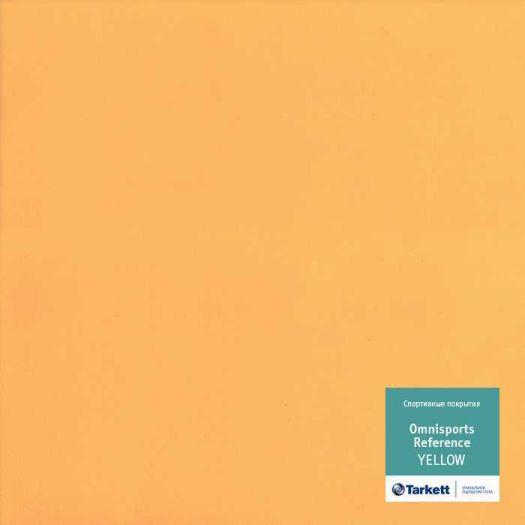 Линолеум Tarkett Omnisports Reference 6,5 mm Yellow