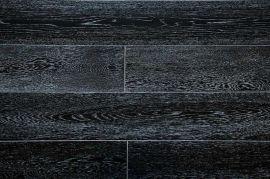 Паркетная доска Amber Wood Дуб Черно-белый браш DBW18914