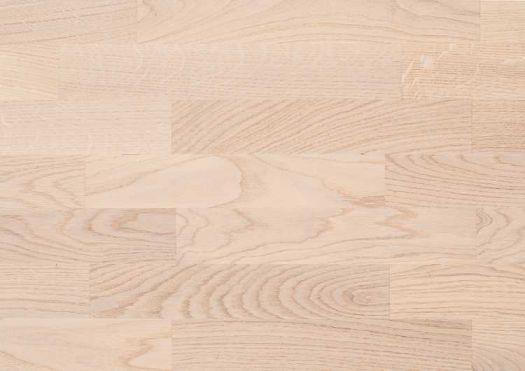 Паркетная доска Befag Дуб Натур Белый лак трехполосная 501024