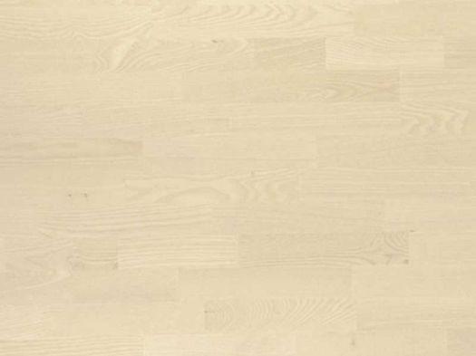 Паркетная доска Boen Ясень Анданте Белое Масло трехполосная ASGV3MTD
