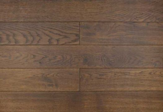 Массивная доска Amber wood Дуб Ebony состаренный 125