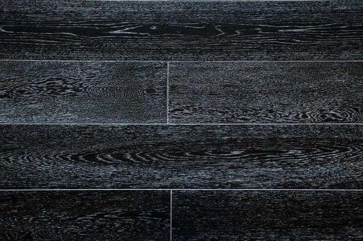 Массивная доска Amber wood Дуб Черно-белый 120