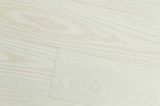 Массивная доска Hajnowka Ясень Arctic White