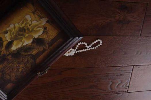 Массивная доска Parketoff Традиционная Дуб Брашированный Мускат