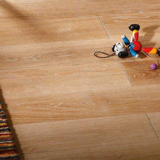 Массивная доска Parketoff Традиционная Дуб Брашированный Юкон