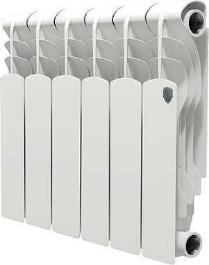 Радиатор биметаллический Royal Thermo Revolution Bimetall 350/6