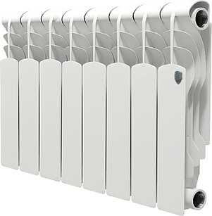 Радиатор биметаллический Royal Thermo Revolution Bimetall 350/8