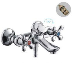 Смеситель для ванны и душа FRAP H731 F32731-B