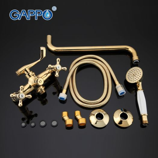 Смеситель для ванны и душа GAPPO Sofia G2263-6