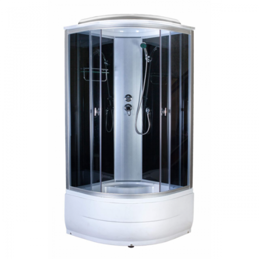 Душевая кабина AquaPulse 4101D grey black