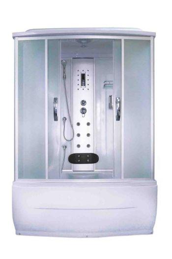 Душевая кабина AquaPulse 7806A fabric white
