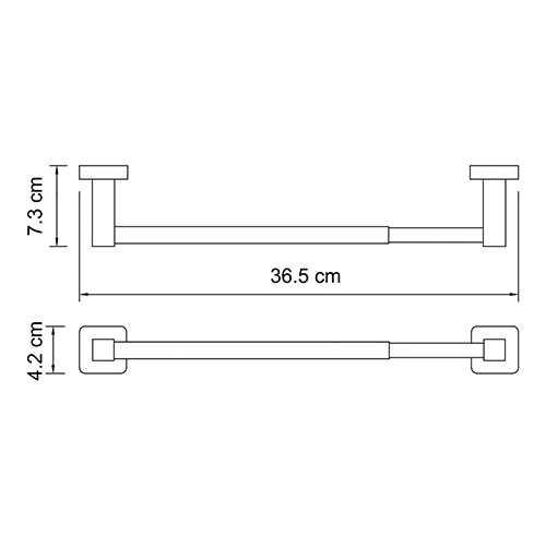 Держатель для бумажных полотенец WasserKRAFT Lippe K-6522, 32см