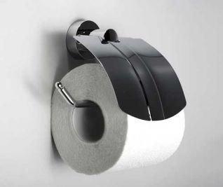 Держатель для туалетной бумаги WasserKRAFT Donau K-9425, с крышкой