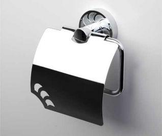 Держатель для туалетной бумаги WasserKRAFT Isen K-4025, с крышкой