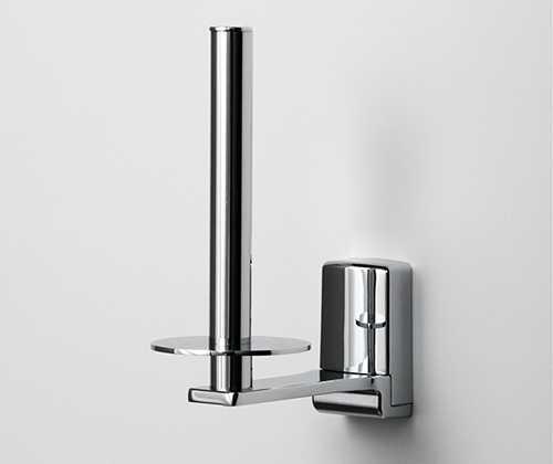 Держатель для туалетной бумаги WasserKRAFT Leine K-5097, вертикальный