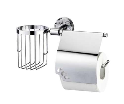 Держатель для туалетной бумаги и освежителя WasserKRAFT Isen K-4059