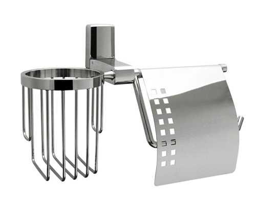 Держатель для туалетной бумаги и освежителя WasserKRAFT Leine K-5059
