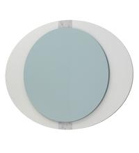 Зеркало Кальдео 90 LED белый Glass ЯМебель