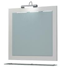 Зеркало Кватро 70С белый ЯМебель