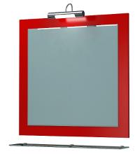 Зеркало Кватро 70С красный глянец ЯМебель