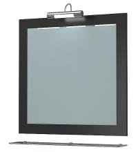 Зеркало Кватро 70С черный металлик ЯМебель