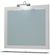 Зеркало Кватро 80С белый ЯМебель