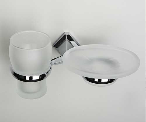 Держатель стакана и мыльницы WasserKRAFT Aller K-1126