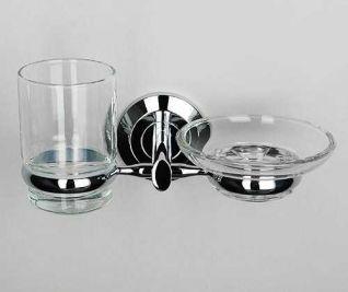 Держатель стакана и мыльницы WasserKRAFT Rhein K-6226