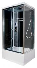 Душевая кабина Edelform EF-4060 L black B с термостатом