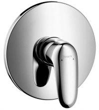 смеситель для ванны и душа Hansgrohe Metris E 31675000 (внешняя часть к 01800180)