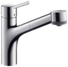 Смеситель для кухни Hansgrohe Talis S 32841000 (с выдвижным душем)