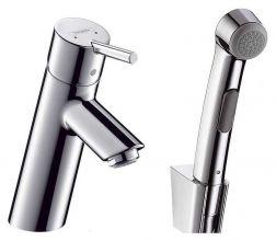 Смеситель для раковины Hansgrohe Talis S (32120000) с гигиеническим душем