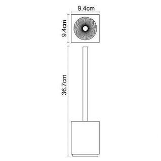 Ерш для туалета WasserKRAFT Liene K-3827