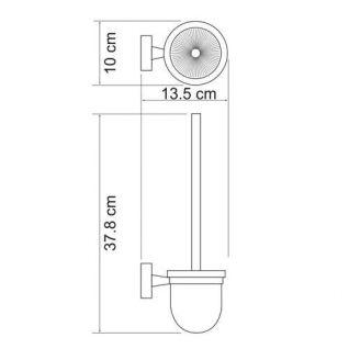 Ершик подвесной WasserKRAFT Isen K-4027