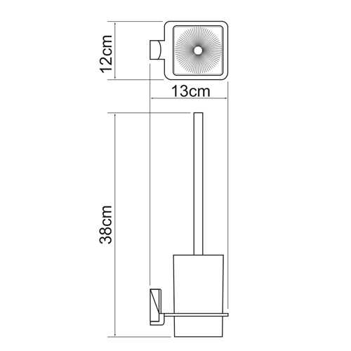 Ершик подвесной WasserKRAFT Leine K-5027