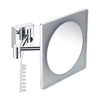 Зеркало WasserKRAFT K-1008 с 3-х кратным увеличением, с Led-подсветкой