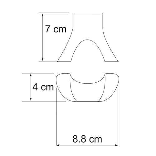 Крючок WasserKRAFT Berkel K-6823, двойной
