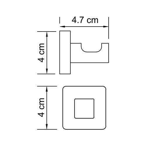 Крючок WasserKRAFT Lippe K-6523